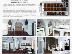 Juana Lema de Diseño de Interiores de la Escuela de Arte de Jerez gana el Premio Extraordinario de Artes Plásticas y diseño.