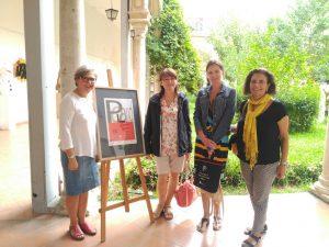 Profesoras Erasmus de Polonia visitan la Escuela de Arte de Jerez