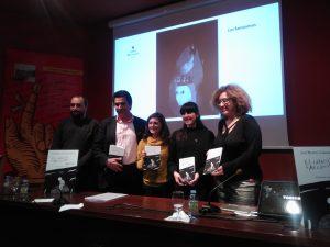 Nuestra antigua alumna Ana Domínguez Corrales presenta las ilustraciones de la obra El caballero de Argónida