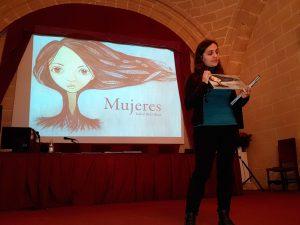 Isabel Ruiz Ruiz nos visitó para hablarnos de su trabajo Mujeres